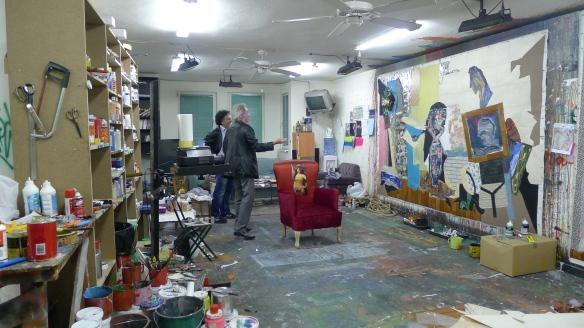 Meynard et Baykam - Atelier Baykam - Istanbul - mai 2012