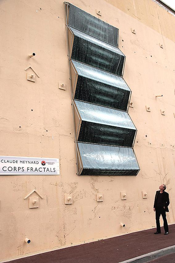 "Demeure Fractale "" Les Corps Fractals"" - Jean-Claude Meynard - 2006 - Monaco -"