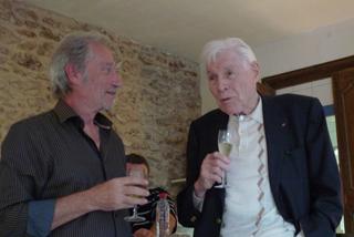 Professeur Christian Cabrol et Jean-Claude Meynard - Atelier