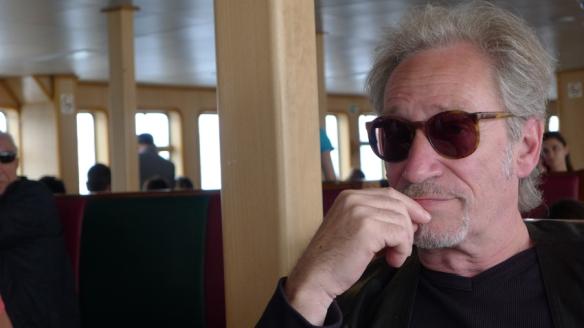 Meynard - Exposition Fractale à Istanbul chez Riff Arts Projects - 2012 - Interview sur Bateau sur le Bosphore -