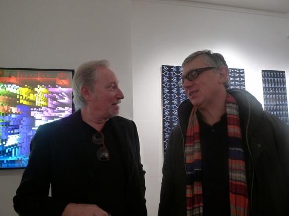 Jean-Claude Meynard et Miguel Chevalier - Exposition collective chez Lelia Mordoch - Mars 2014