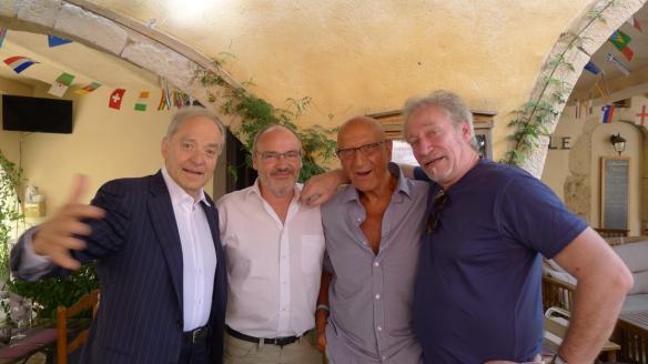 André Brahic, Patrick Bondoux, Paul Charbit, Jean-Claude Meynard - Valbonne 2014