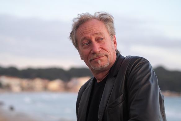 """Jean-Claude Meynard aux Sablettes - Seyne-sur-Mer - Tournage du film sur la Sculpture """"World"""""""