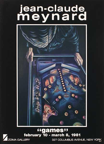 Exposition Jean-Claude Meynard à N.Y. 1981