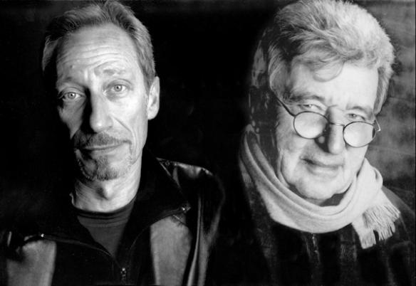 """Jean-Claude Meynard et Joël Stein vus par Philippe Vermes Vermes - Exposition Lavignes Bastille """" Les Infinis """" - Paris"""