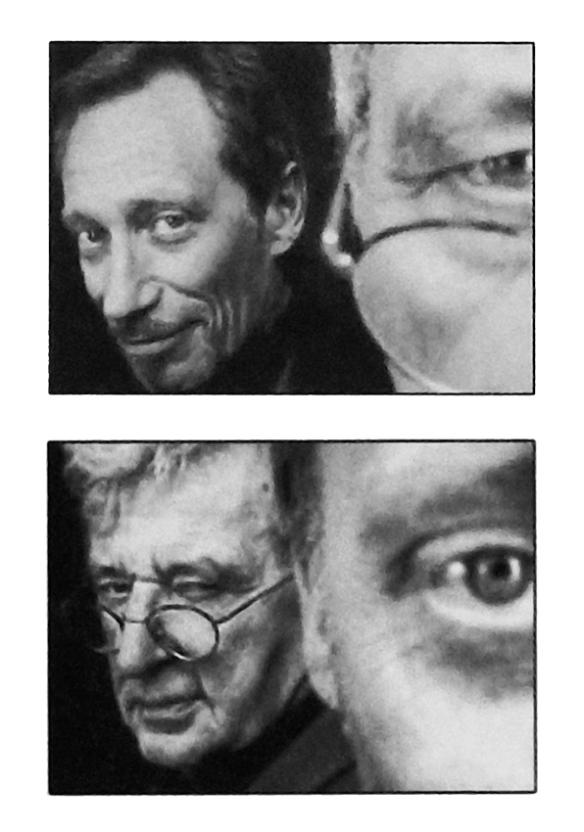 Jean-Claude Meynard et Joël Stein - Joël Stein et Jean-Claude Meynard - Le Grav, le Fractal... deux géométries en duo - Photo de Philippe Vermes