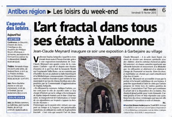Jean-Claude Meynard Article Nice Matin