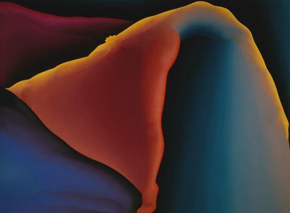 Transe... en danse - Jean-Claude Meynard - peinture acrylique sur toile- 1983 - 130X195 cm