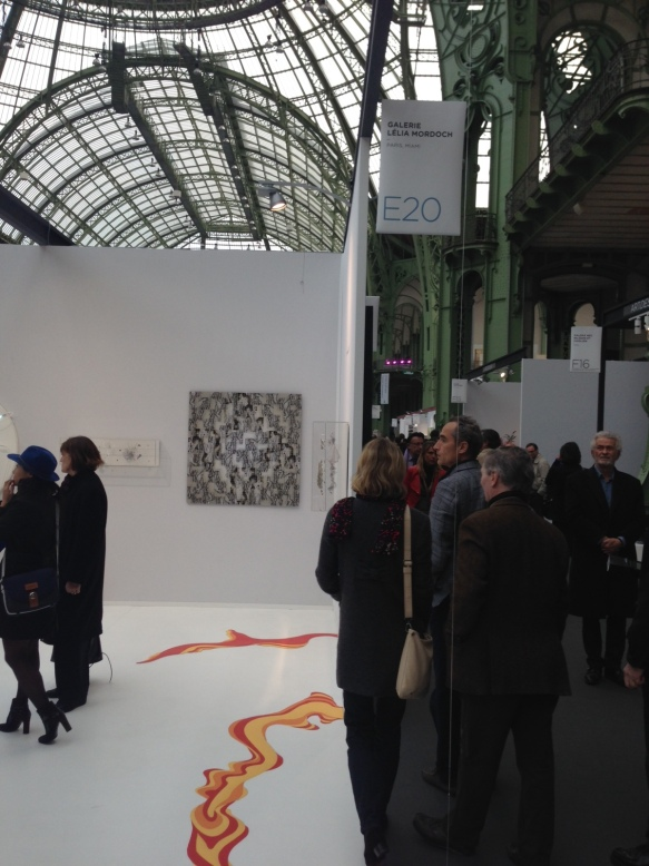 Art Paris 2014 - Grand Palais - JC Meynard  chez Lella Mordoch - Stand 020
