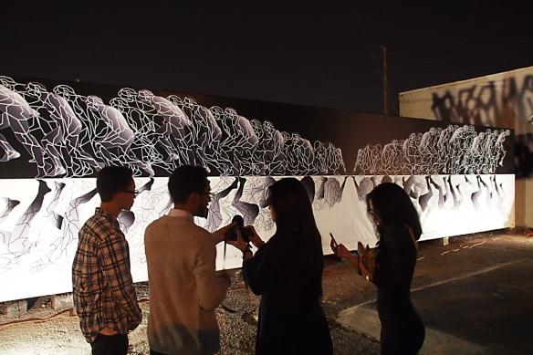 """Scope Miami Art Fair - Décembre 2014 - Jean-Claude Meynard chez Lelia Mordoch - Oeuvre """" Métamorphose"""""""