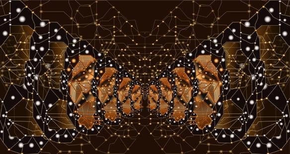 Monarque Papillon fractal WEB